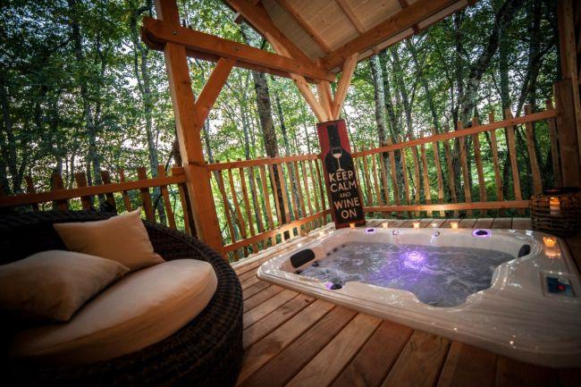 Location Lodge De Luxe Avec Jacuzzi Bordeaux  Sarl Aljy